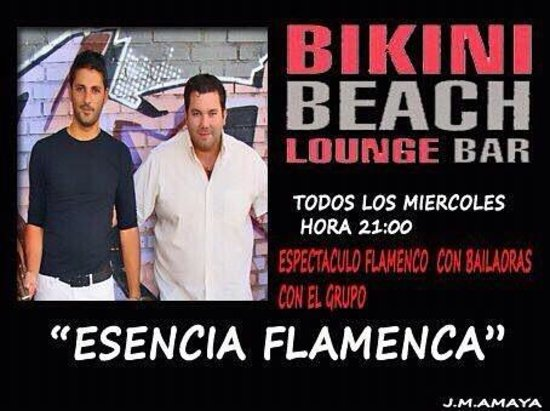 23c16097a1 NOCHE DE FLAMENCO - Picture of Bikini Beach Lounge Bar and ...