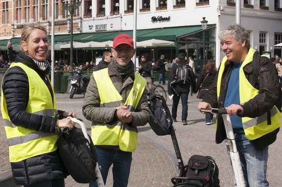 Segway Bruges: Segway Brugge