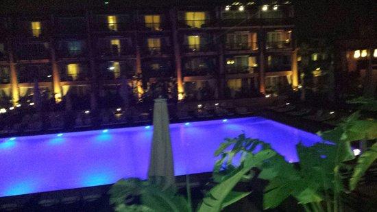 Hotel & Ryads Barriere Le Naoura Marrakech: Vu piscine