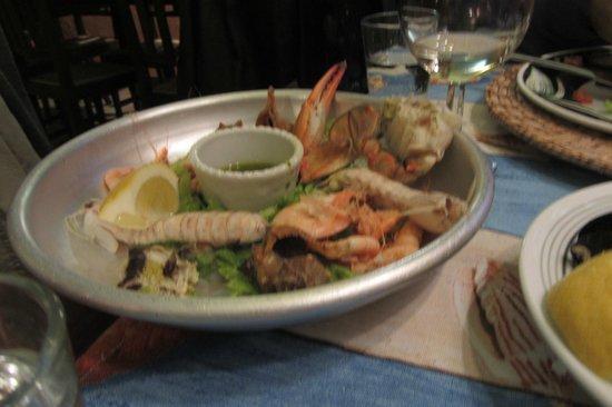 Trattoria Al Graspo: Meeresfrüchte