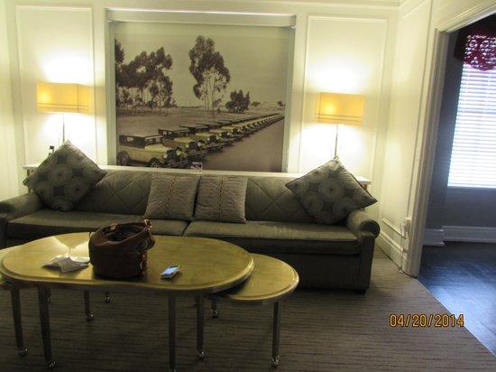 Inn at the Park : living room