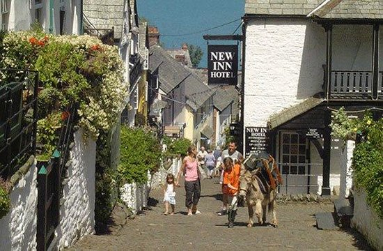 Clovelly Village