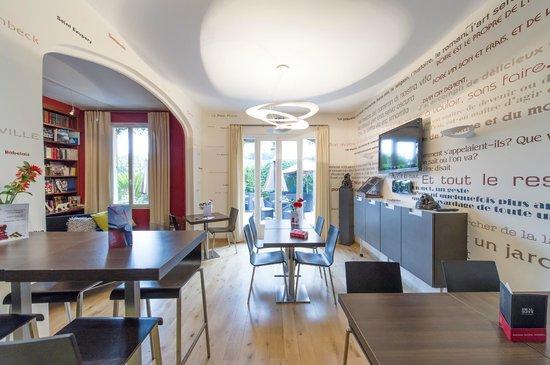 Ideal Sejour Hôtel : salle de petit déjeuner