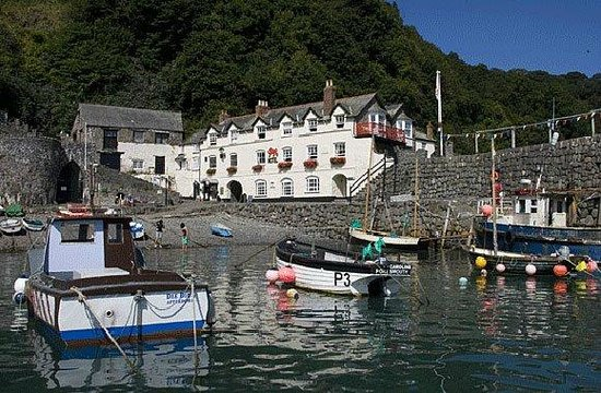 Clovelly, UK: The Red Lion Hotel
