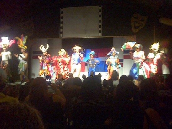Grand Bahia Principe San Juan: Disfrute de Show nocturno