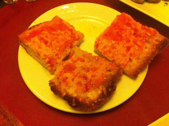 Casa Alfonso : domatesli ekmek