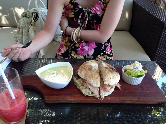 Abaca Boutique Resort: Abaca's lunch