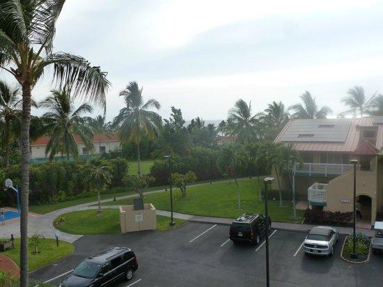 Kona Coast Resort: view from the room