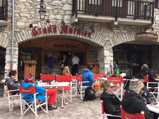 Creperie Au Grand Marnier: Détente après ski