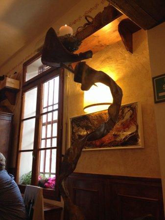 Bottega Di Lornano: Posto molto accogliente e caldo...