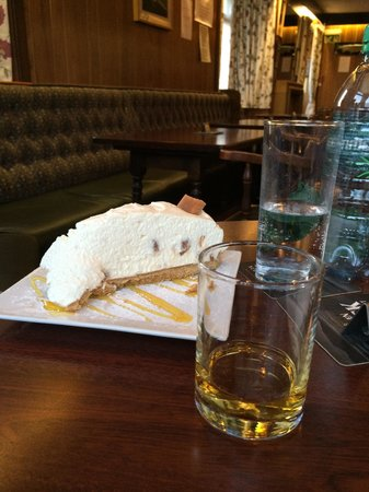 Merkister Hotel: The Orkney Fudge Cheesecake