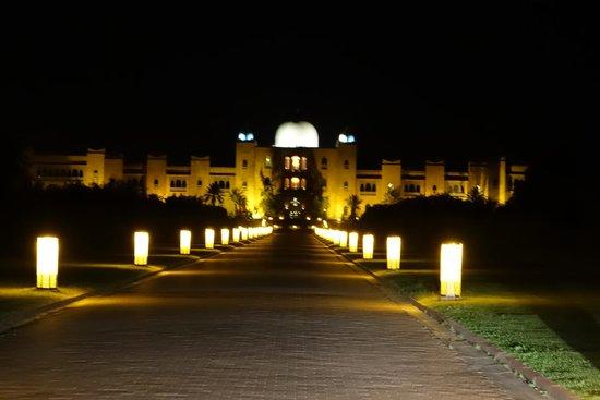 Sahara Palace Marrakech : l'entrée