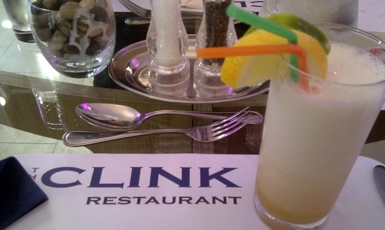 The Clink Restaurant : Exotic Columbian cocktail
