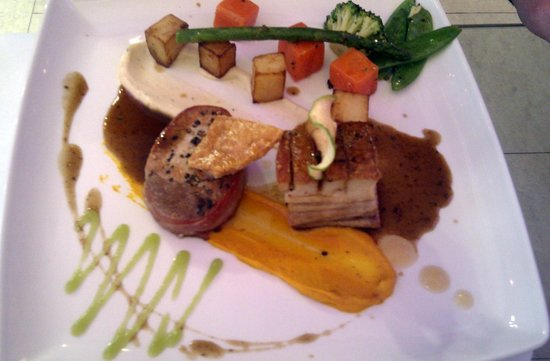 The Clink Restaurant : Pork fillet & belly & Serrano ham