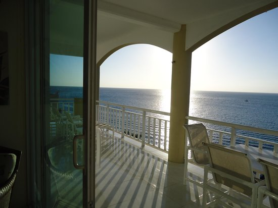 El Cantil Condo Resort : Balcony