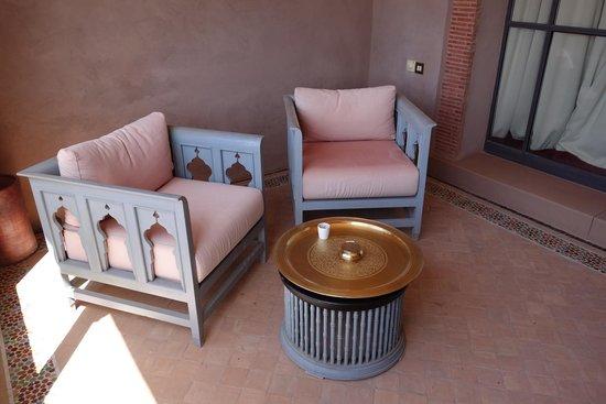 Sahara Palace Marrakech : la terrasse