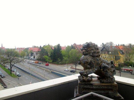 Aparthotel Residenz 2000: Veduta dal solarium della stanza 510