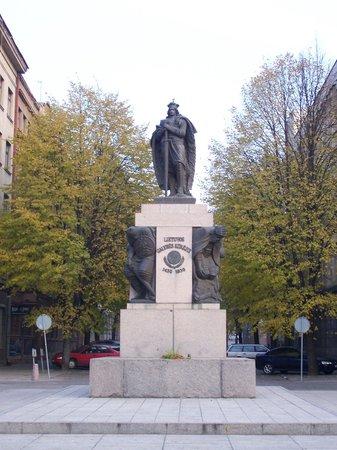 Laisves aleja (Liberty Boulevard): une statue