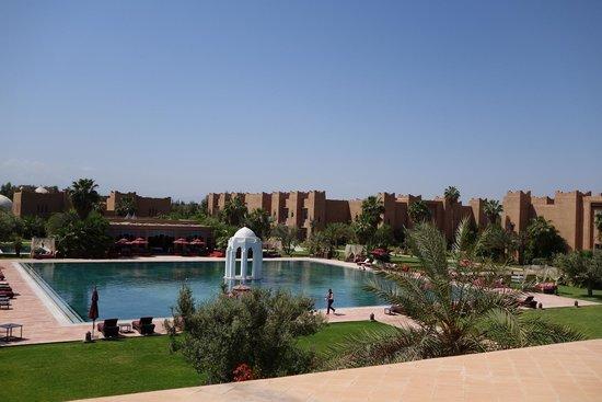 Sahara Palace Marrakech : la vue de notre terrasse