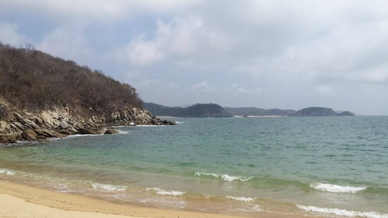 Agua Azul La Villa: Берег моря