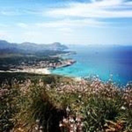 Zafiro Cala Mesquida: View from Mountain walk