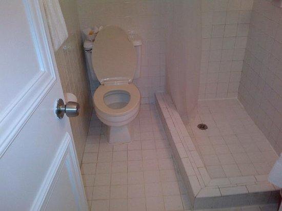 La Siesta Resort & Marina : tiny bathroom