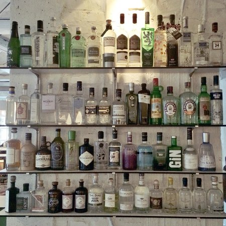 Gin-Bar im Maison Manesse