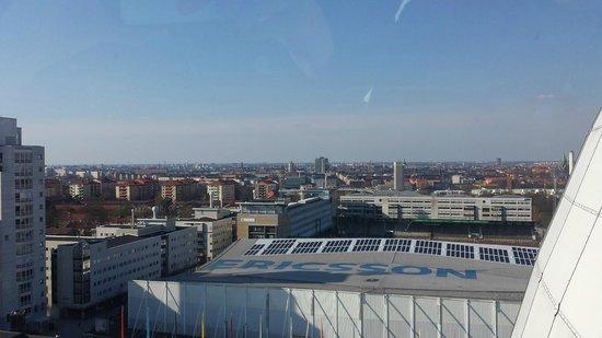 Stockholm Globe Arena: come potete vedere, il centro città è lontanissimo!