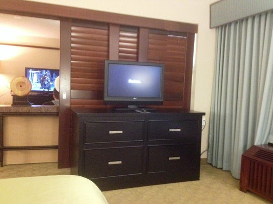 Doubletree by Hilton Orlando at SeaWorld: TV in Bedroom