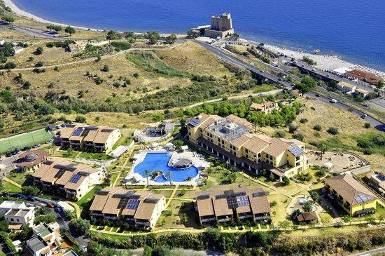 Roseto Capo Spulico, Italia: Vista aerea