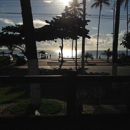 Maceio Atlantic Suites: Vista da Praia na Piscina