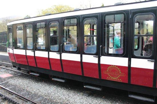 Snowdon Mountain Railway : Tiny train