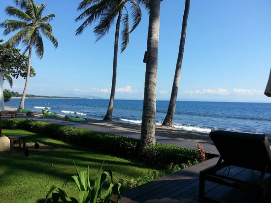 The Chandi Boutique Resort & Spa: Part of beautiful beach view