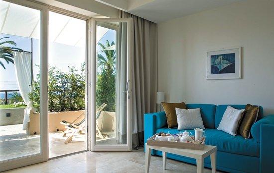 Villa Marina Capri Hotel & Spa: Prampolini living area