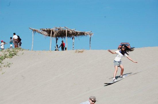 La Paz Sand Dunes: Sand Boarding
