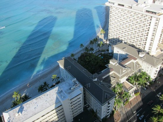 Hyatt Regency Waikiki Resort & Spa: 眺めは最高