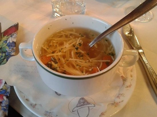 Pension Südhang: Suppe