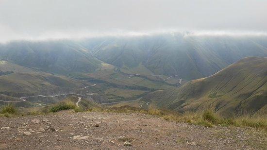 Parque Nacional Los Cardones: llegando al parque nacional 2800 mts de altura