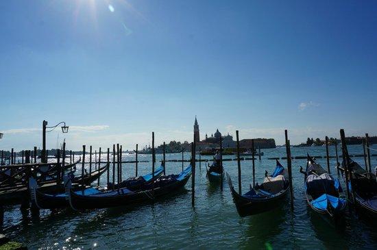 Piazza San Marco (Plaza de San Marcos): Gondolas.