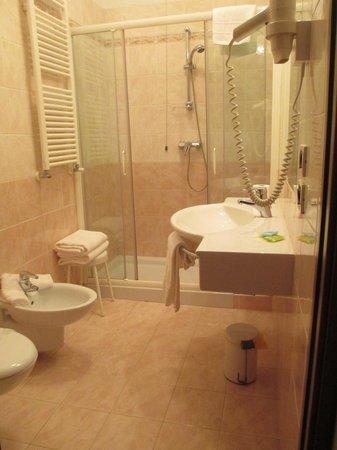 Crocioni Hotel Rizzi: Bagno camere primo piano