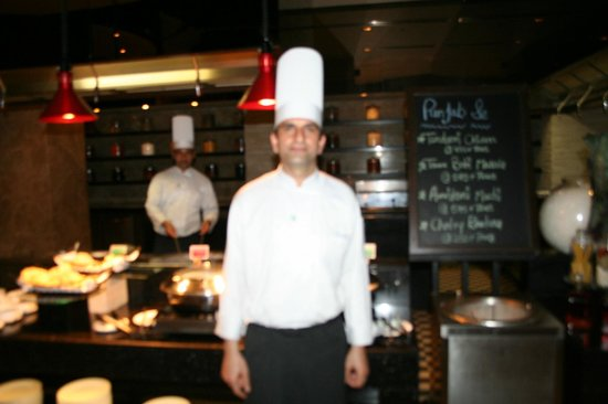 Holiday Inn Amritsar Ranjit Avenue: Sandeep the Master Chef from Himachal