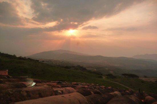 Posada El Encanto: Beautiful sunsets