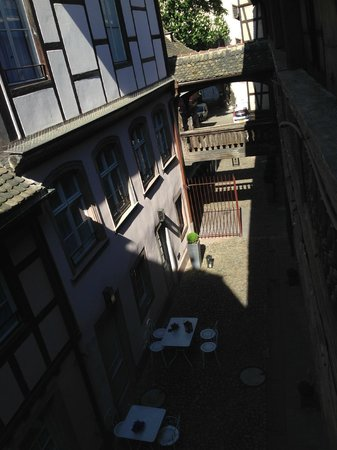 Hôtel Cour du Corbeau Strasbourg - MGallery Collection : View from the room