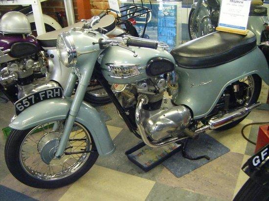 Sammy Miller Motorcycle Museum: triumph
