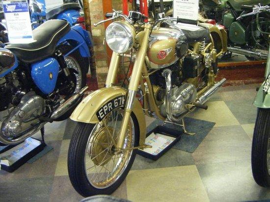 Sammy Miller Motorcycle Museum: bsa
