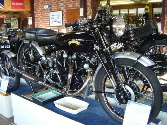 Sammy Miller Motorcycle Museum: vincent