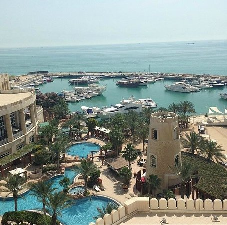 Four Seasons Hotel Doha: view from my room