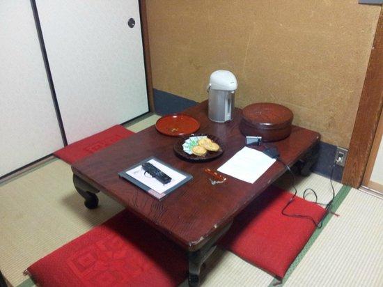 Homeikan : Il tavolino da té