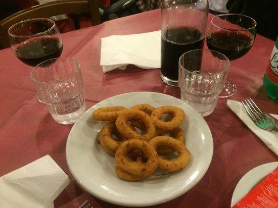 Pizzeria Ionica: Anelli di cipolla
