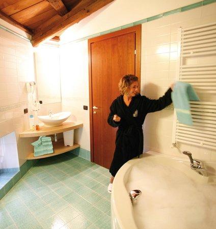 Hotel Le Macine: Bagno